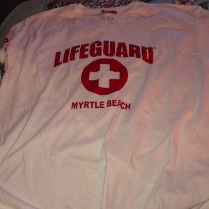 NWT Myrtle Beach Lifeguard Long Sleeve